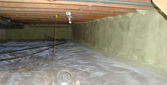 Crawl Space Insulation